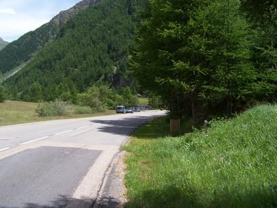 parking Lac de Soliet