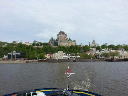 Mercredi 29 mai: Québec-City