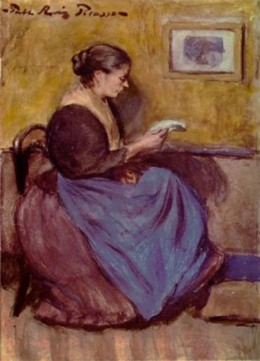09 - Le femmes qui lisent  chez Picasso
