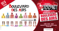 100% Radio Showcase Boulevard des Airs