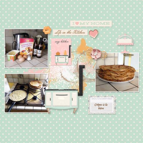 Cozy kitchen -mini kit