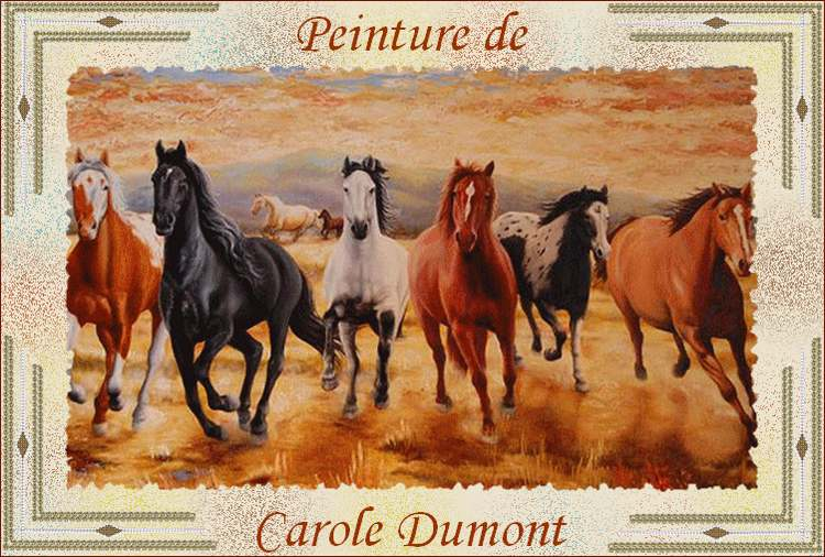 Peinture de : Carole DUMONT