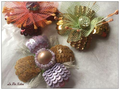 Fleurs, boutons et baies
