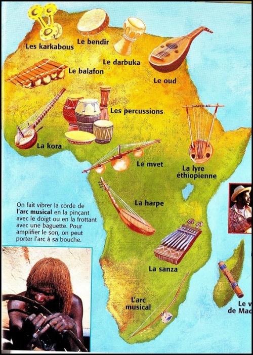Afrique en musique ...
