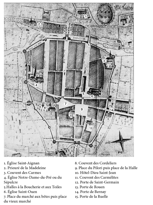 LES REMPARTS DE PONT-AUDEMER (Eure)