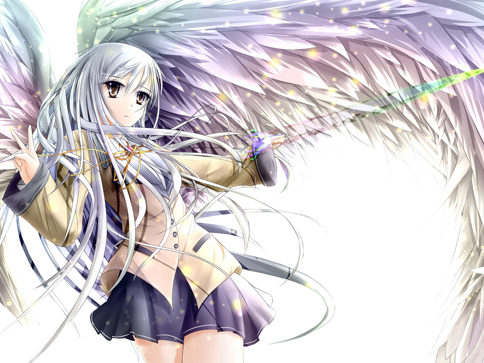 Render angel beats hey mangas - Fille de manga ...