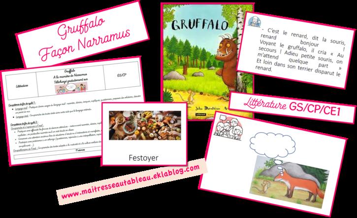 Gruffalo à la façon Narramus