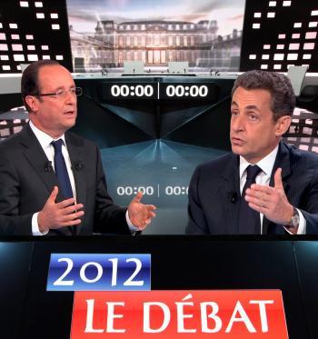 Sarkozy vs Hollande: un débat vraiment insuffisant.