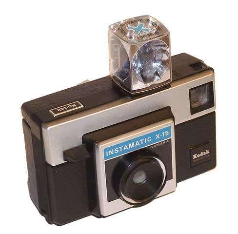 Kodak-Instamatic-X - with flash cube, remember?: