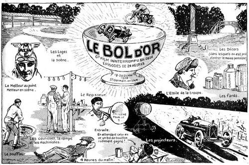 Le Bol d'or 1923 prend ses aises