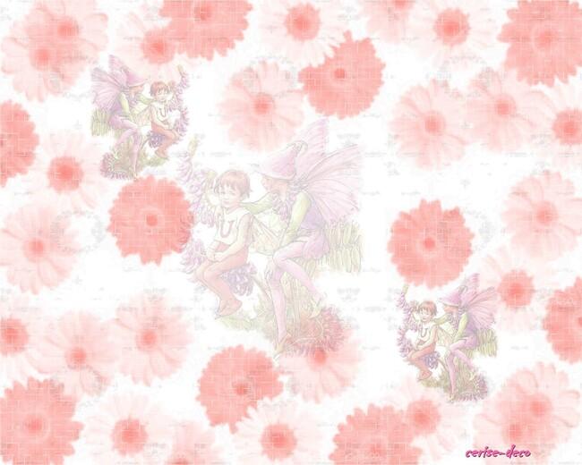 design féee aux fleurs