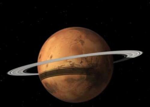 Comme Saturne, Mars pourrait un jour avoir un anneau