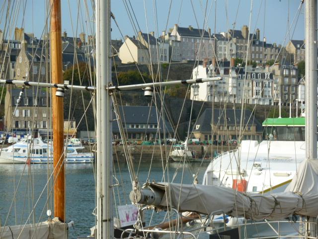 Granville vue du port