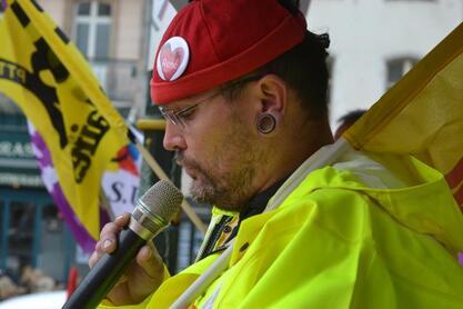 Près de 950 personnes ont répondu à l'appel à la grève lancé par la fonction publique, ce mardi 10 octobre.