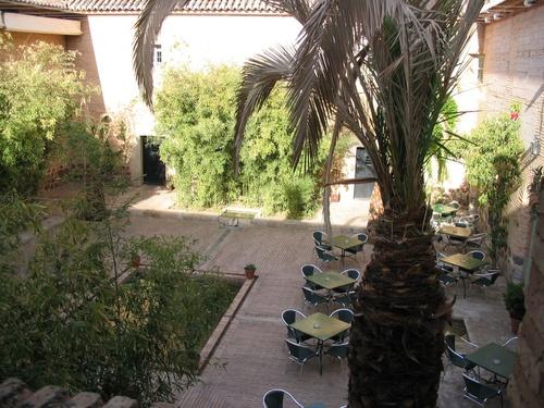 Patio espagnol de l'hotel Paradores d'Almagro