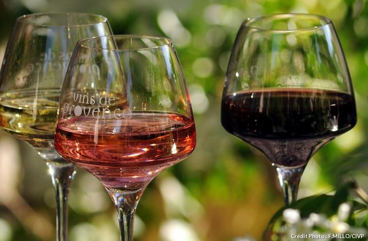 3 couleurs de vin