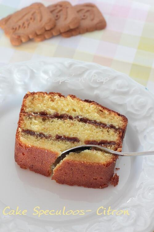 Cake Speculoos - Citron