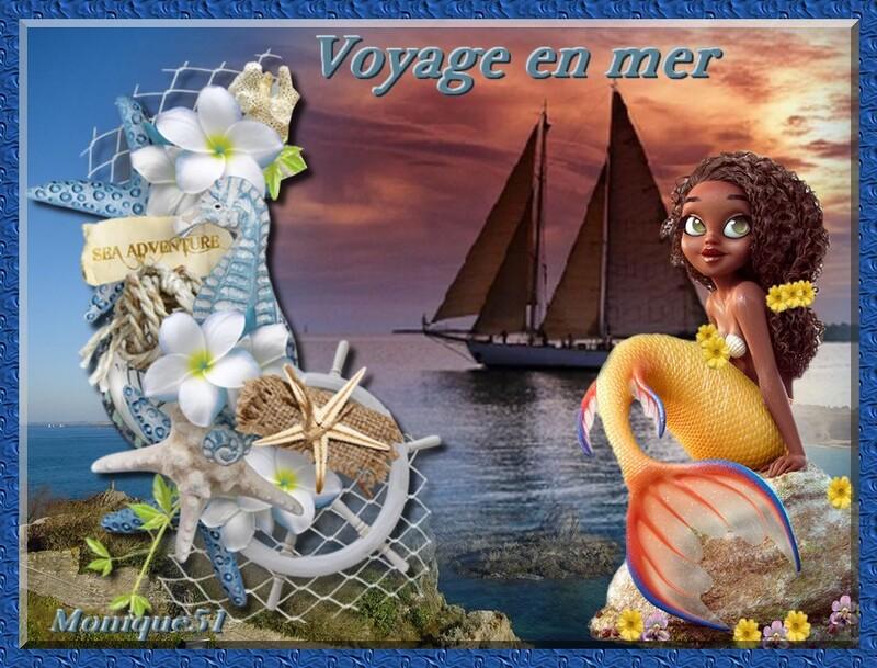 Voyage en mer défi pour Georgette