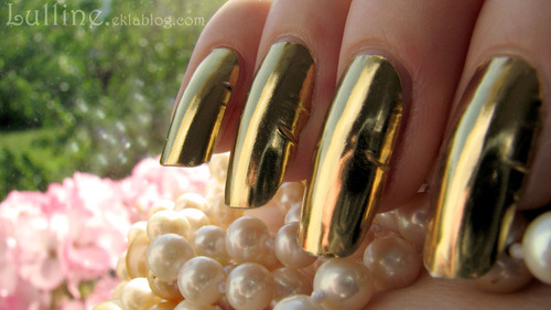Nail Foil Patch - Gold