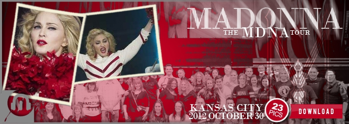 The MDNA Tour - Kansas City - Pictures