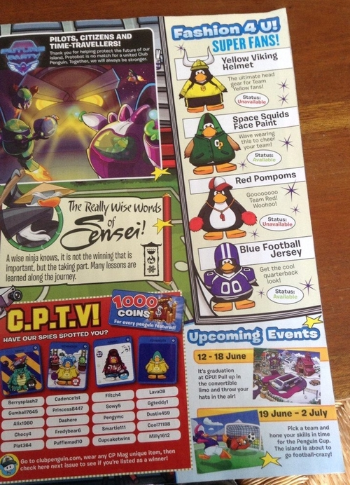 Magazine Club Penguin juin 2014