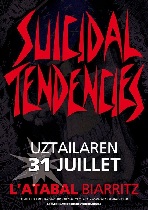 SUICIDAL TENDENCIES_L'Atabal Biarritz_31072012