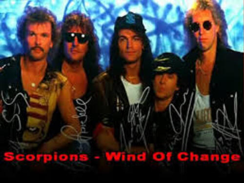 SCORPIONS - Wind of Change (1990)  (Soft Rock Café)