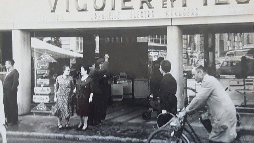 Une photo ancienne parmi les centaines qui illustrent les articles du blog Mémoires de Graulhet.