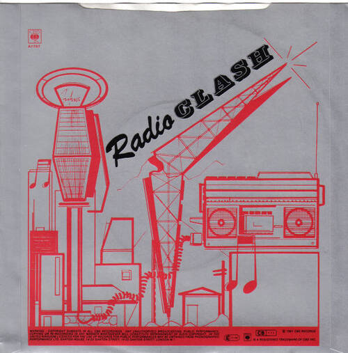 Les SINGLéS # 57 : The Clash - Radio Clash (1981)
