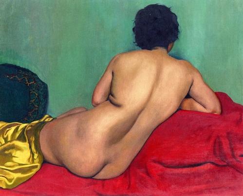 Fichier:Félix Vallotton, 1925 - Nu de dos sur un canapé rouge.jpg ...