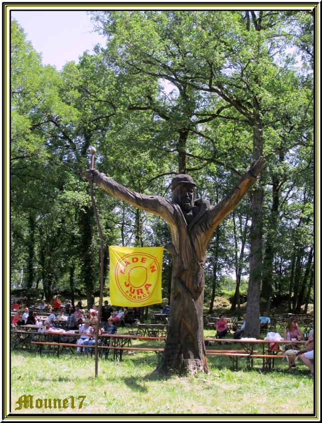 La fête du fromage à Rocamadour juin 2014