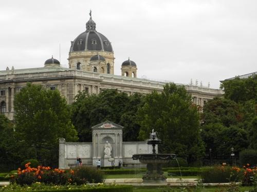 Le quartier de la Hofbourg (palais) à Vienne en Autriçe (photos)
