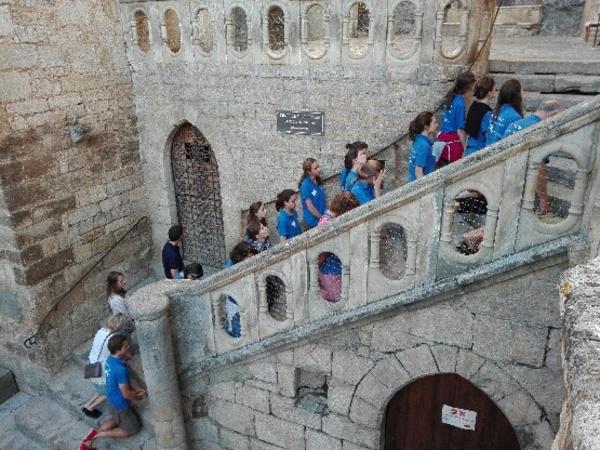 Montée du Grand Escalier