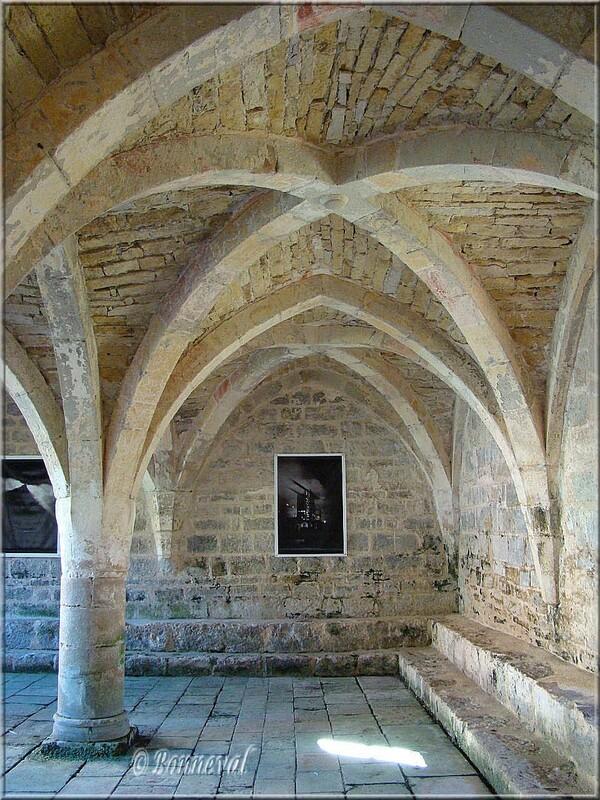 Abbaye de Beaulieu-en-Rouergue la Salle Capitulaire