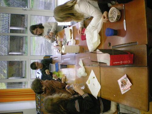 Petit déjeuner à l'école