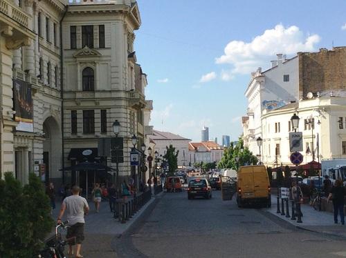 Vilnius: autour de la Porte Dorée et son icône de la Vierze Marie