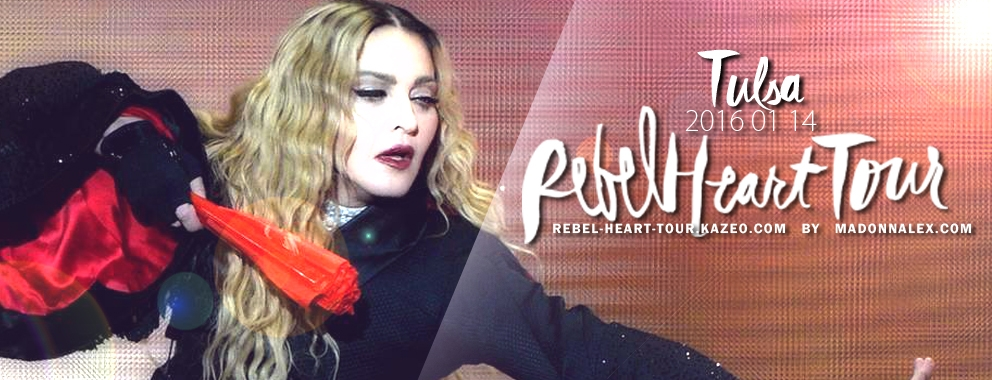 Madonna Rebel Heart Tour Tulsa