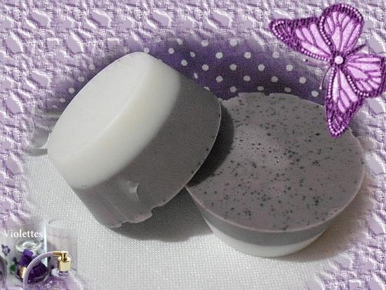 petits savons à la violette 2