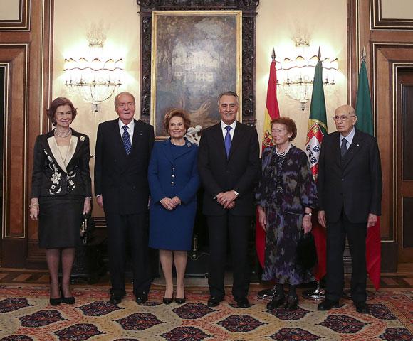 Sofia et Juan Carlos au Portugal