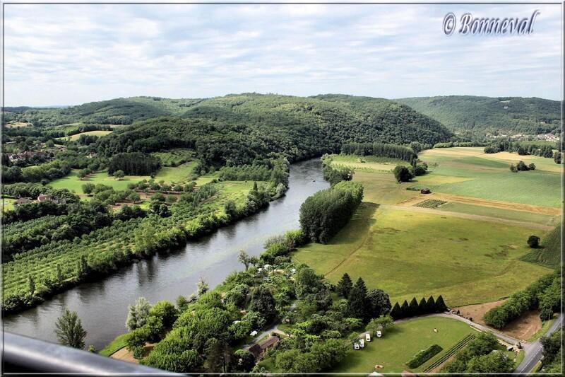 Les Jardins de Marqueyssac Périgord Noir du Belvédère vue sur la Dordogne