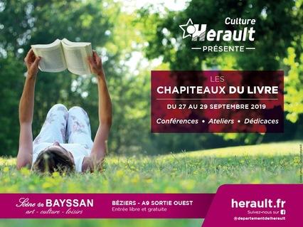 Les Chapiteaux du Livre au Domaine de Bayssan - Béziers