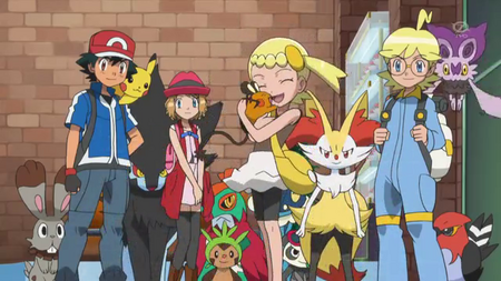 Pokémon XY (S18) épisode 78 en RAW