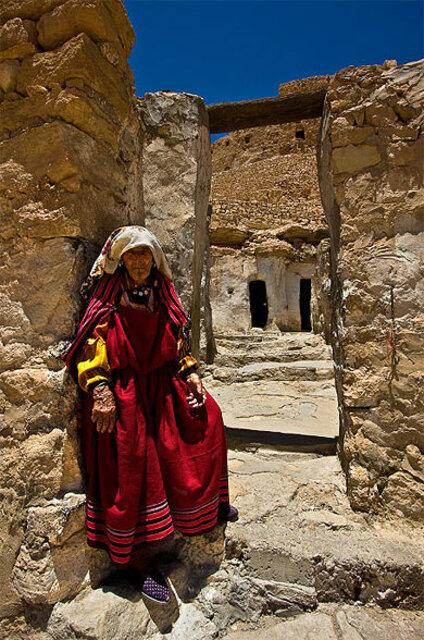 Femme en tenue Berbère