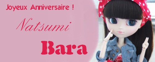 Joyeux anniversaire Bara !