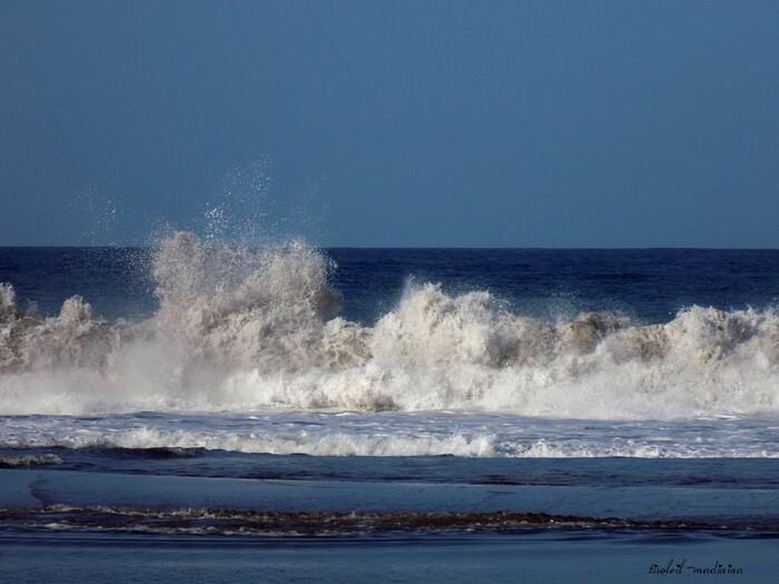 La mer à Ste Marie Martinique