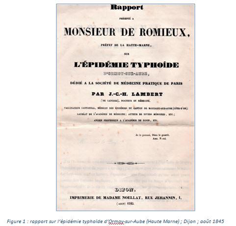 """""""Quand passent les microbes"""", un notule d'Histoire de Dominique Masson..."""