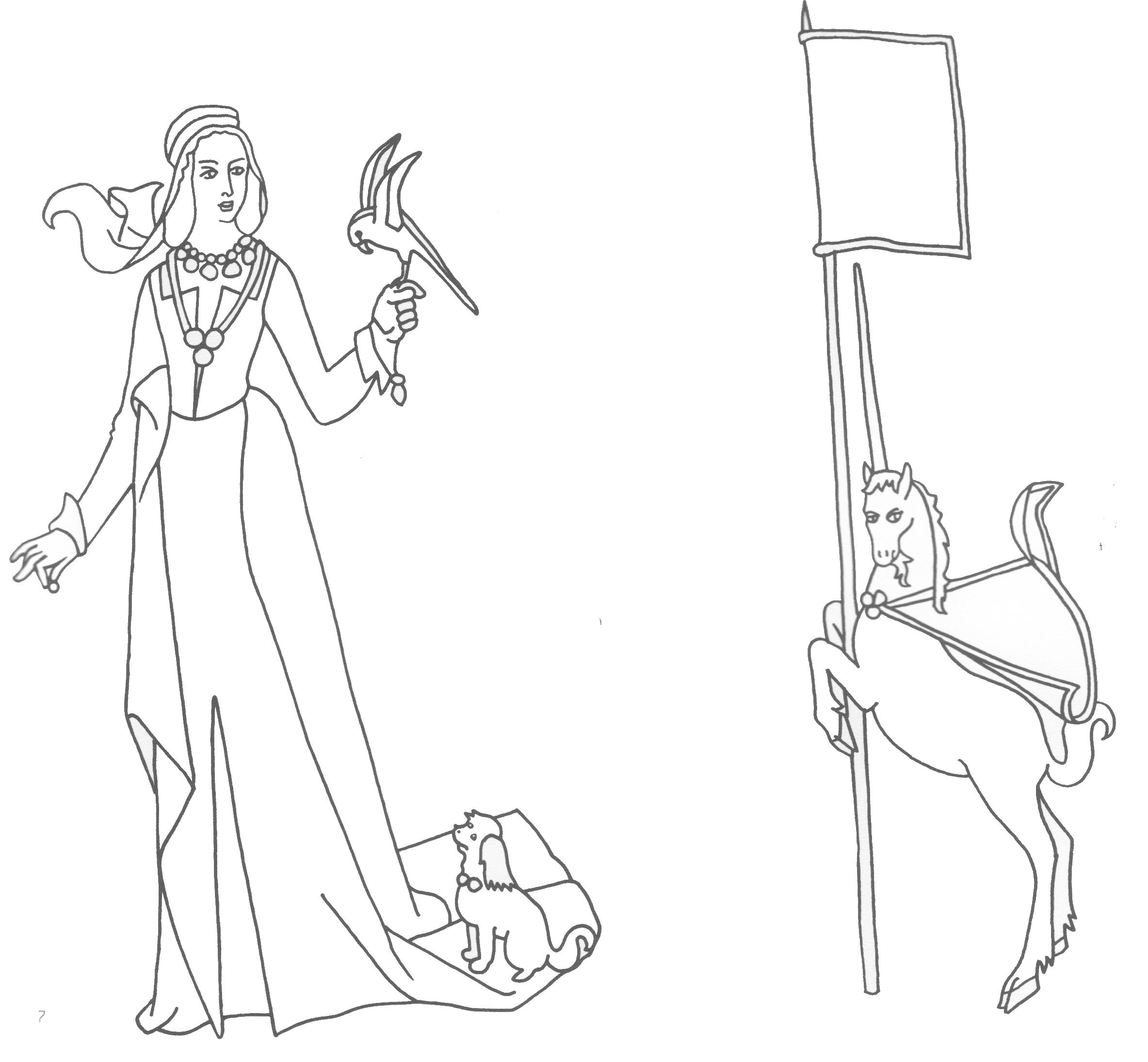 La dame la licorne le sac de nat - La tapisserie de la dame a la licorne ...
