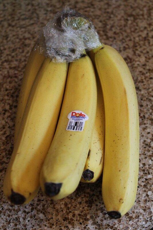 Conservation : bananes