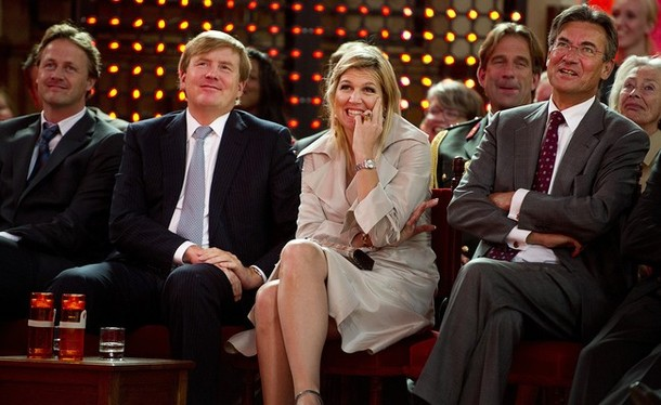 Maxima Et Willem Alexander et l'innovation