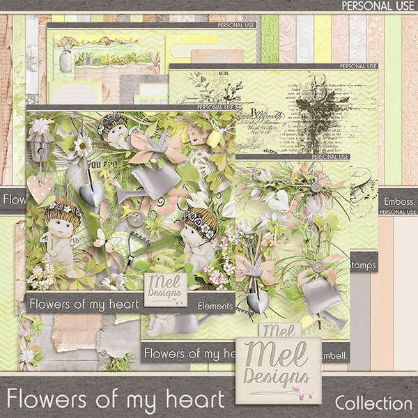 Flowers of my heart de Mel designs